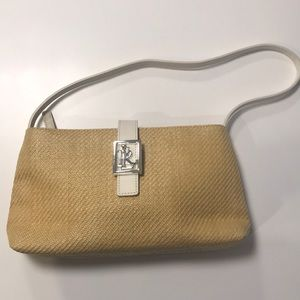 "Ralph Lauren ""Rafia"" style Handbag"